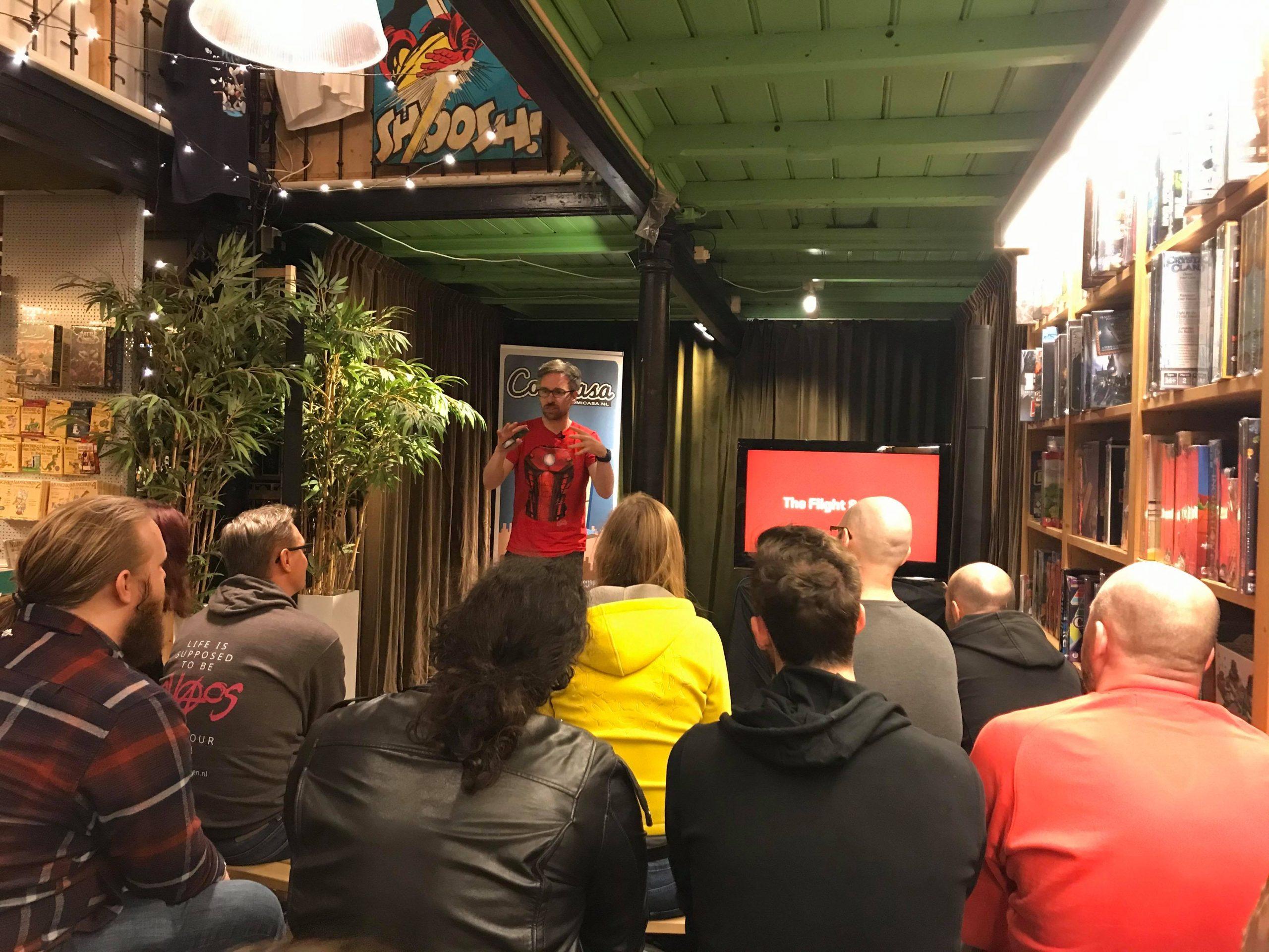 Speaking at Comicasa, Feb 21st 2020